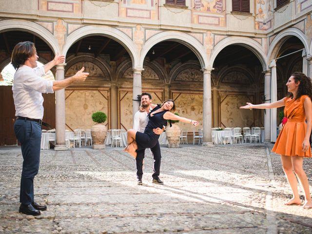 Il matrimonio di Davide e Federica a Robecco sul Naviglio, Milano 89