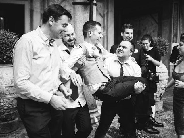 Il matrimonio di Davide e Federica a Robecco sul Naviglio, Milano 91