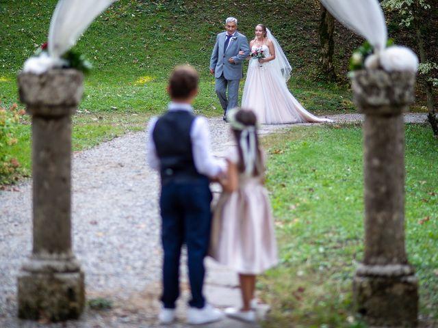 Il matrimonio di Mattia e Veronica a Monasterolo del Castello, Bergamo 26