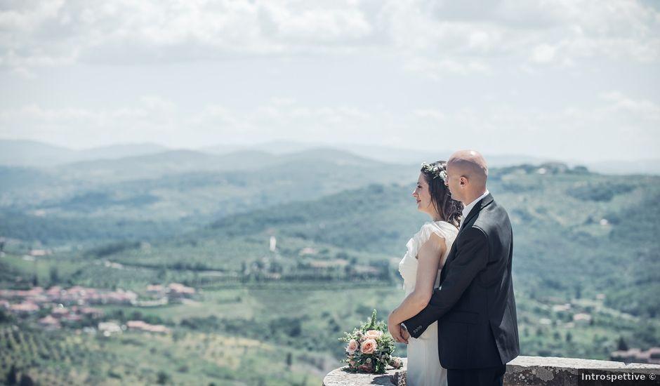 Il matrimonio di Massimo e Laura a Carmignano, Prato
