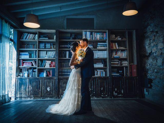 le nozze di Denise e Michael