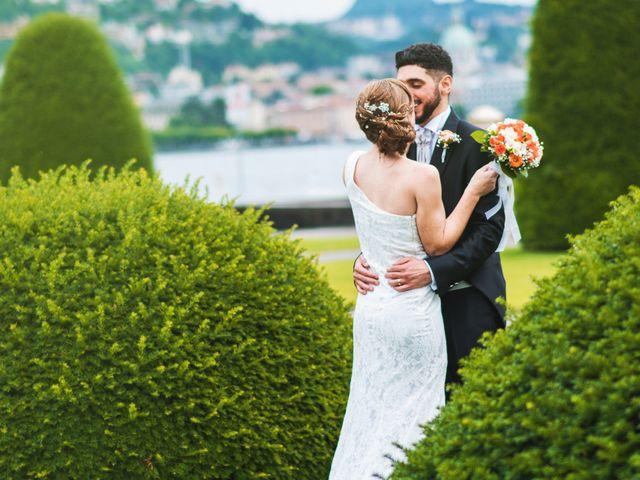 Il matrimonio di Maurizio e Zeila a Cavallasca, Como 34