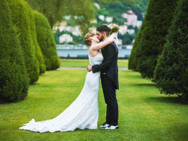 Il matrimonio di Maurizio e Zeila a Cavallasca, Como 37