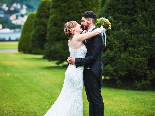 Il matrimonio di Maurizio e Zeila a Cavallasca, Como 38