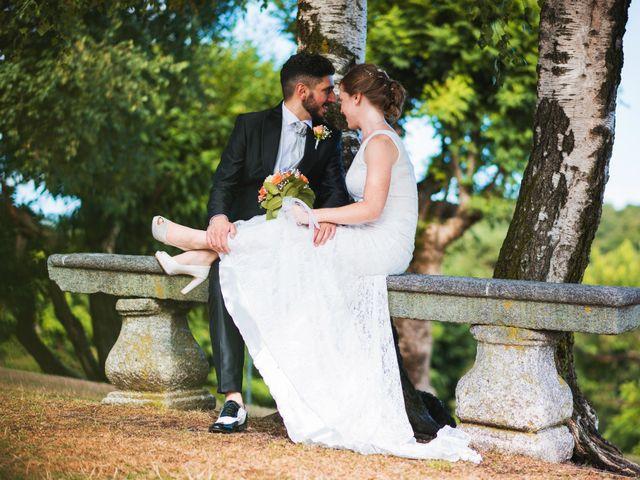 Il matrimonio di Maurizio e Zeila a Cavallasca, Como 49