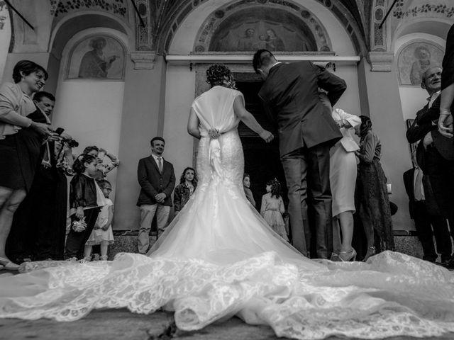 Il matrimonio di Luca e Lucia a Garzeno, Como 12