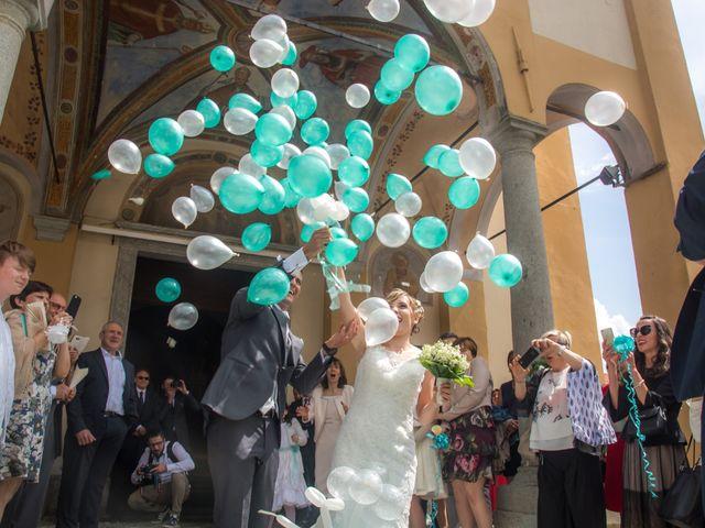 Il matrimonio di Luca e Lucia a Garzeno, Como 18