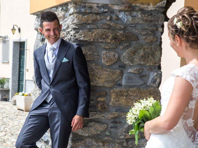 Il matrimonio di Luca e Lucia a Garzeno, Como 23