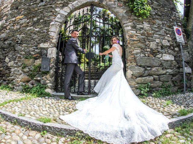 Il matrimonio di Luca e Lucia a Garzeno, Como 25