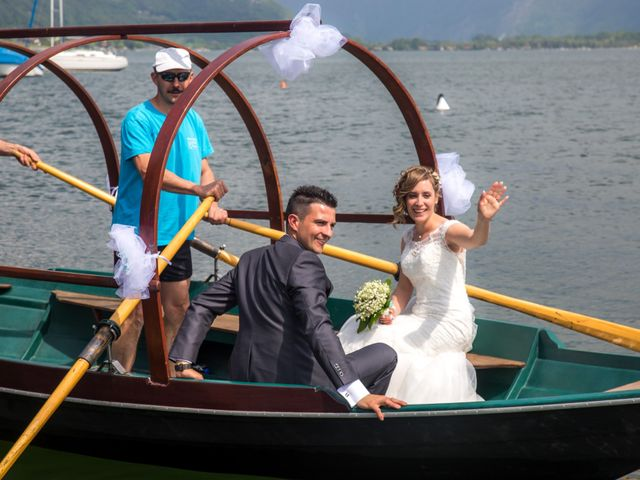 Il matrimonio di Luca e Lucia a Garzeno, Como 27