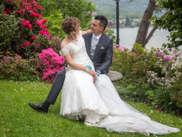 Il matrimonio di Luca e Lucia a Garzeno, Como 30