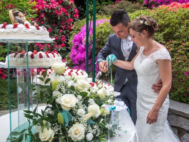 Il matrimonio di Luca e Lucia a Garzeno, Como 31