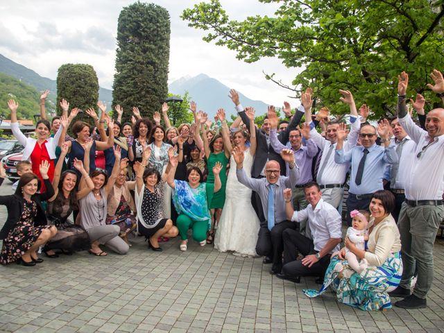 Il matrimonio di Luca e Lucia a Garzeno, Como 33