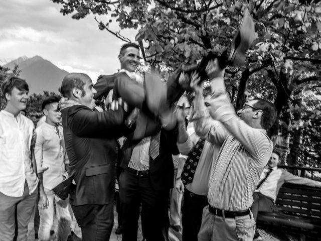 Il matrimonio di Luca e Lucia a Garzeno, Como 34