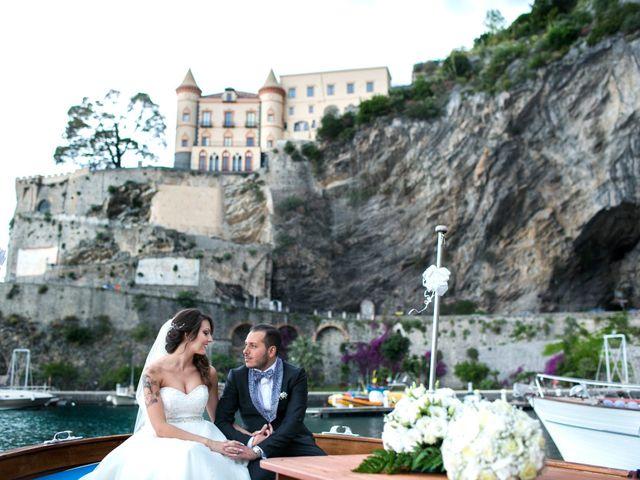 Il matrimonio di Fabrizio e Rosa a Amalfi, Salerno 40