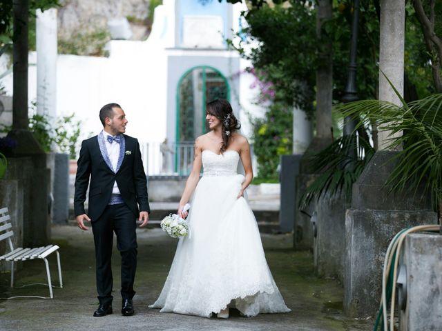 Il matrimonio di Fabrizio e Rosa a Amalfi, Salerno 41