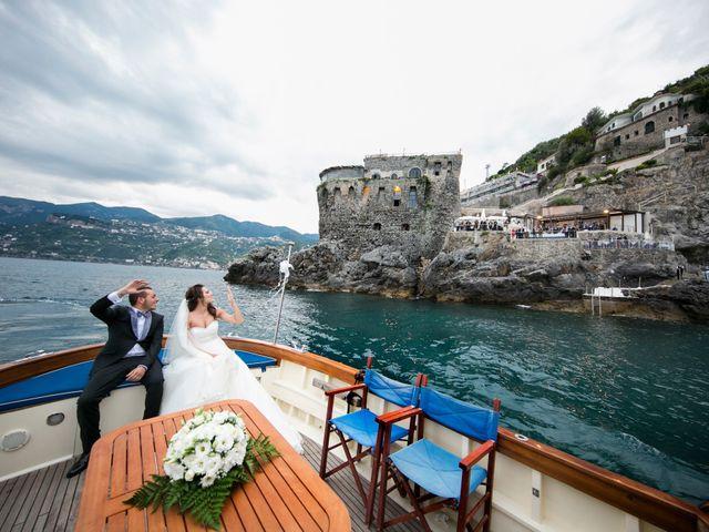 Il matrimonio di Fabrizio e Rosa a Amalfi, Salerno 52