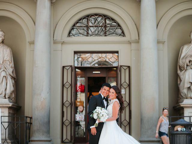Il matrimonio di Vincent e Jennifer a Firenze, Firenze 33