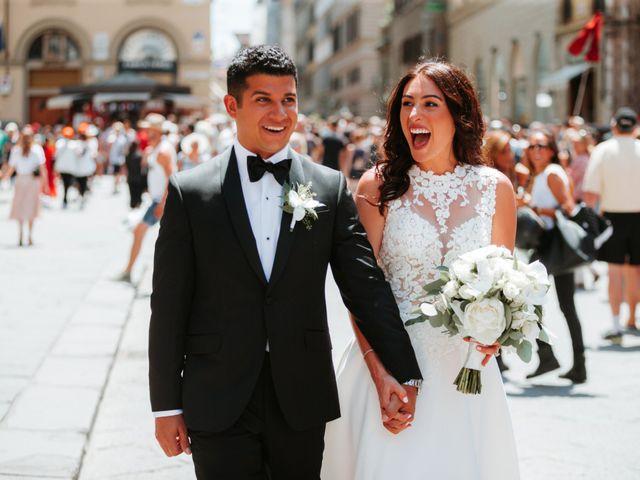 Il matrimonio di Vincent e Jennifer a Firenze, Firenze 35