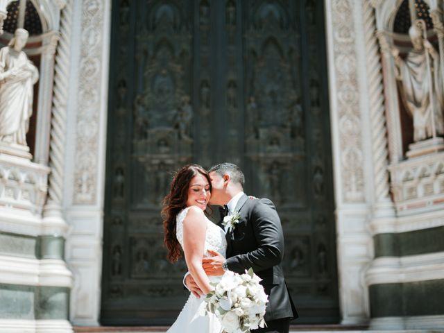 Il matrimonio di Vincent e Jennifer a Firenze, Firenze 36