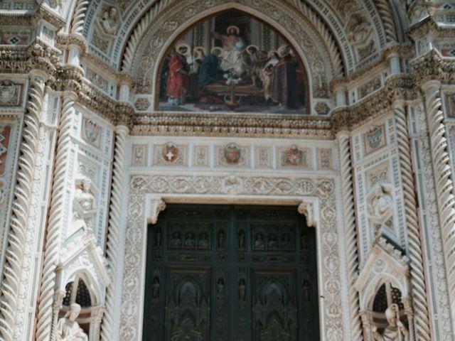 Il matrimonio di Vincent e Jennifer a Firenze, Firenze 37