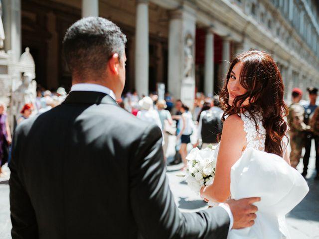 Il matrimonio di Vincent e Jennifer a Firenze, Firenze 42