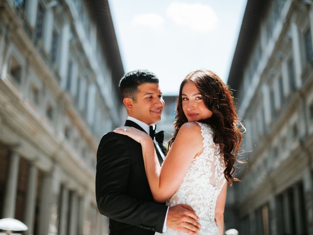 Il matrimonio di Vincent e Jennifer a Firenze, Firenze 43
