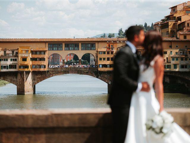 Il matrimonio di Vincent e Jennifer a Firenze, Firenze 45