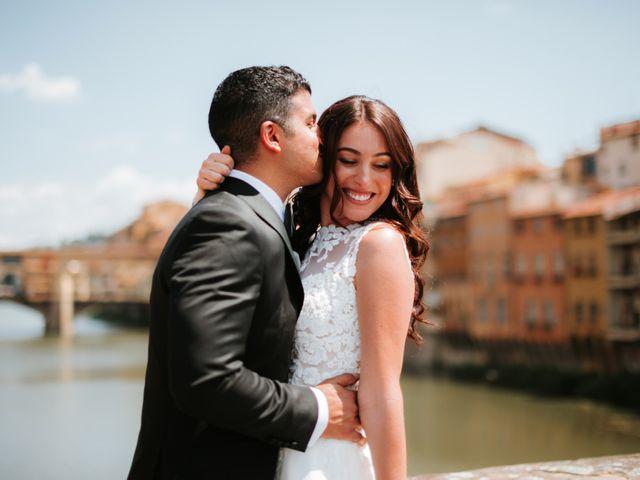 Il matrimonio di Vincent e Jennifer a Firenze, Firenze 46