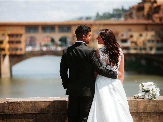 Il matrimonio di Vincent e Jennifer a Firenze, Firenze 47