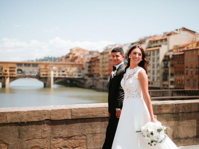Il matrimonio di Vincent e Jennifer a Firenze, Firenze 48