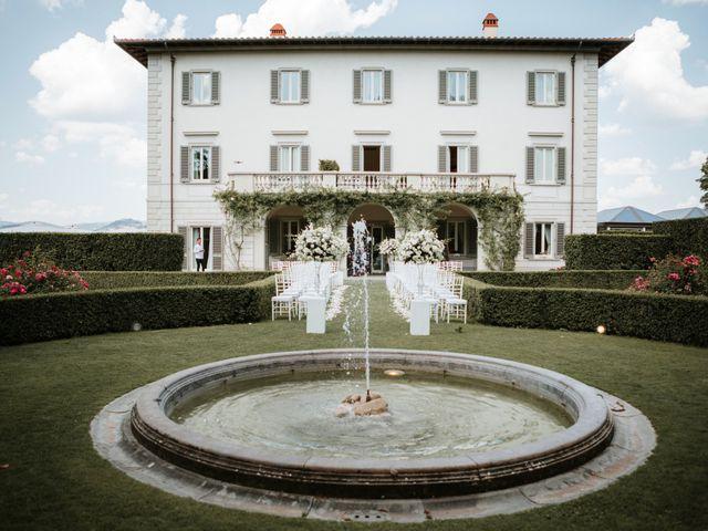 Il matrimonio di Vincent e Jennifer a Firenze, Firenze 49