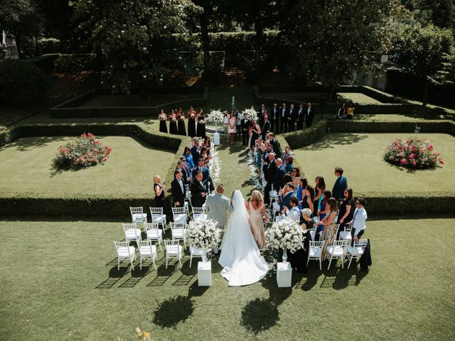 Il matrimonio di Vincent e Jennifer a Firenze, Firenze 57