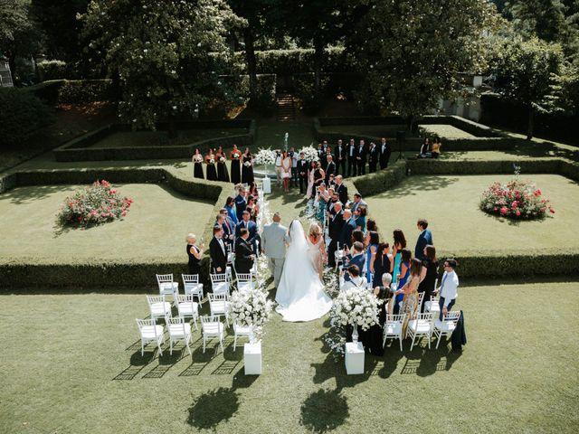 Il matrimonio di Vincent e Jennifer a Firenze, Firenze 59