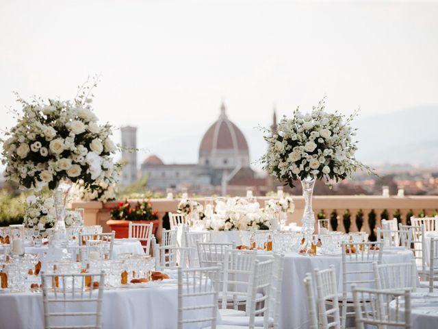 Il matrimonio di Vincent e Jennifer a Firenze, Firenze 70