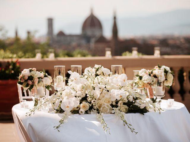 Il matrimonio di Vincent e Jennifer a Firenze, Firenze 76