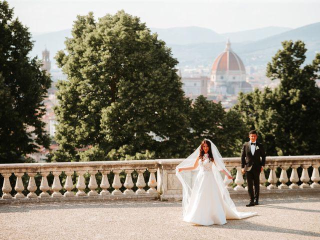 Il matrimonio di Vincent e Jennifer a Firenze, Firenze 83