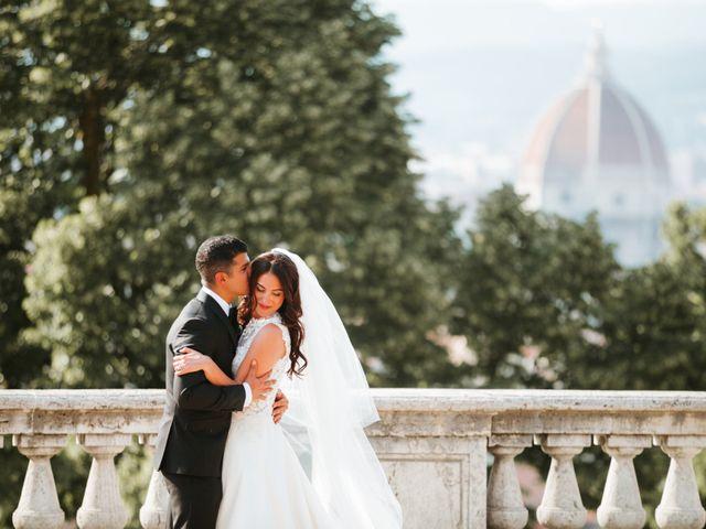 Il matrimonio di Vincent e Jennifer a Firenze, Firenze 84
