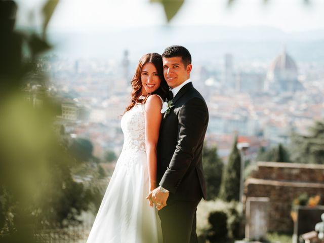Il matrimonio di Vincent e Jennifer a Firenze, Firenze 86