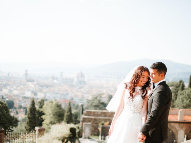 Il matrimonio di Vincent e Jennifer a Firenze, Firenze 87