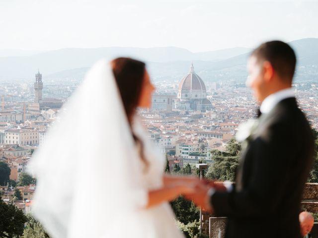 Il matrimonio di Vincent e Jennifer a Firenze, Firenze 88