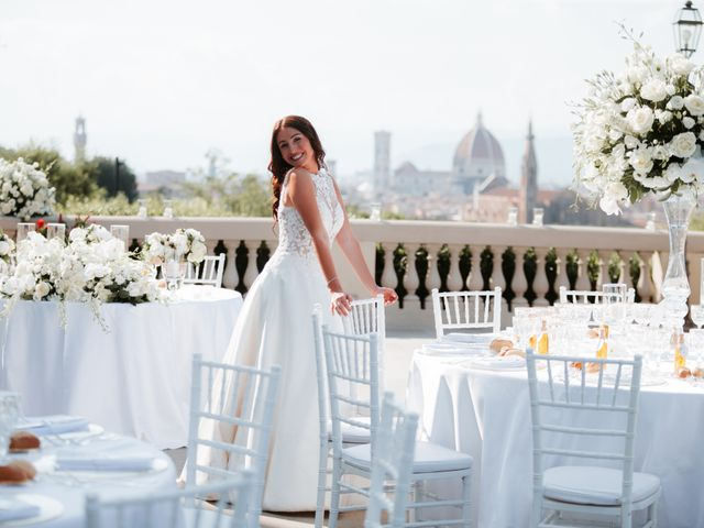 Il matrimonio di Vincent e Jennifer a Firenze, Firenze 89