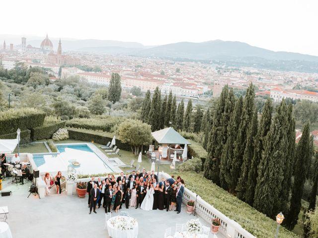 Il matrimonio di Vincent e Jennifer a Firenze, Firenze 91