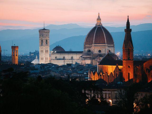 Il matrimonio di Vincent e Jennifer a Firenze, Firenze 92