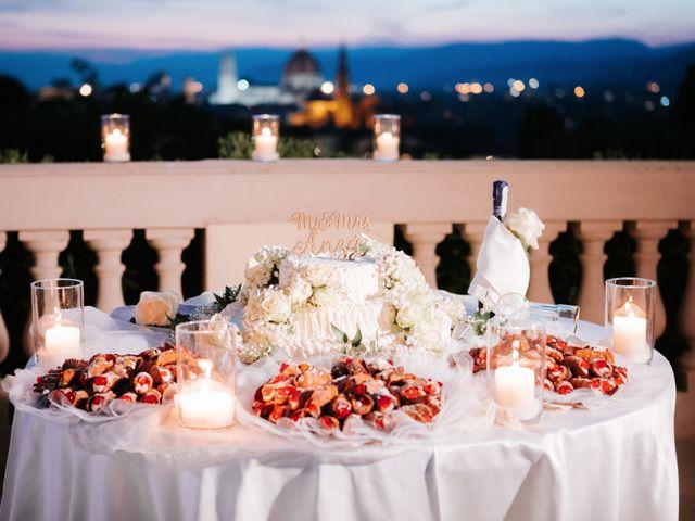 Il matrimonio di Vincent e Jennifer a Firenze, Firenze 93