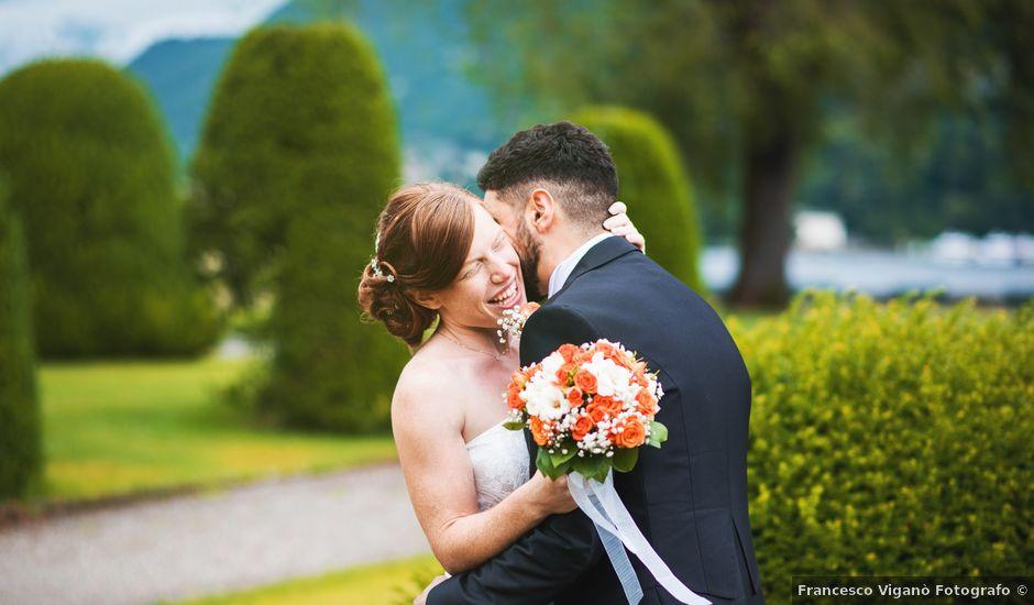 Il matrimonio di Maurizio e Zeila a Cavallasca, Como