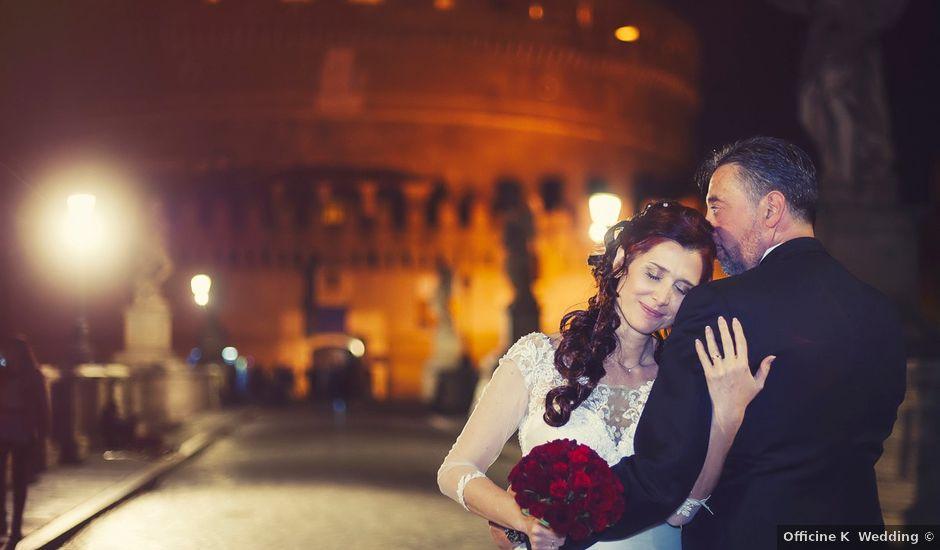 Il matrimonio di Roberto e Orietta a Roma, Roma