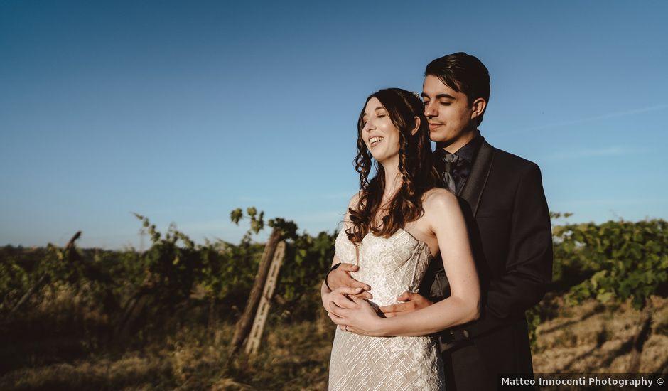 Il matrimonio di Matteo e Guendalina a Siena, Siena