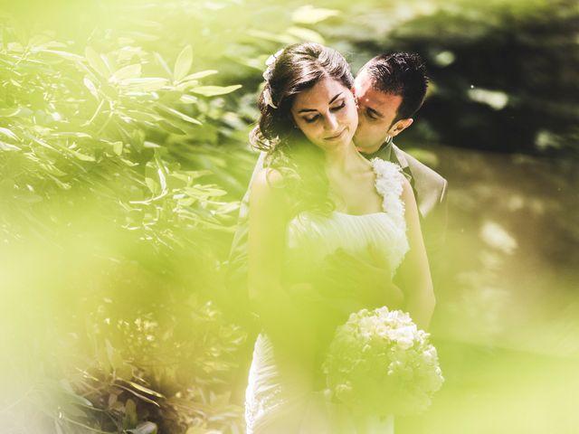 le nozze di Serena e Andrea