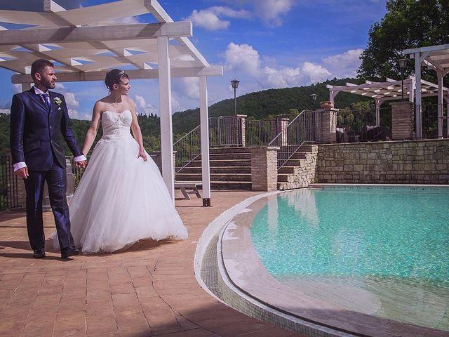 Il matrimonio di Damiano e Debora a Torgiano, Perugia 31
